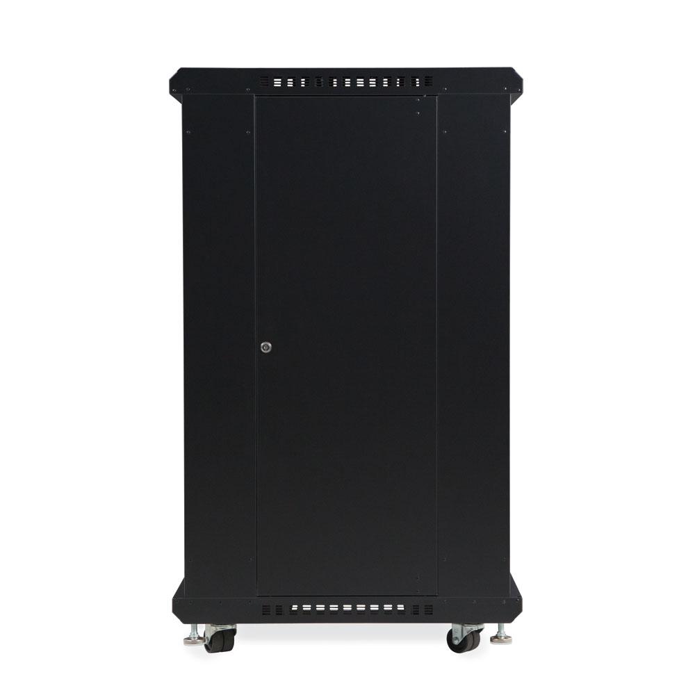 22U LINIER  Server Cabinet - Vented/Vented Doors - 24