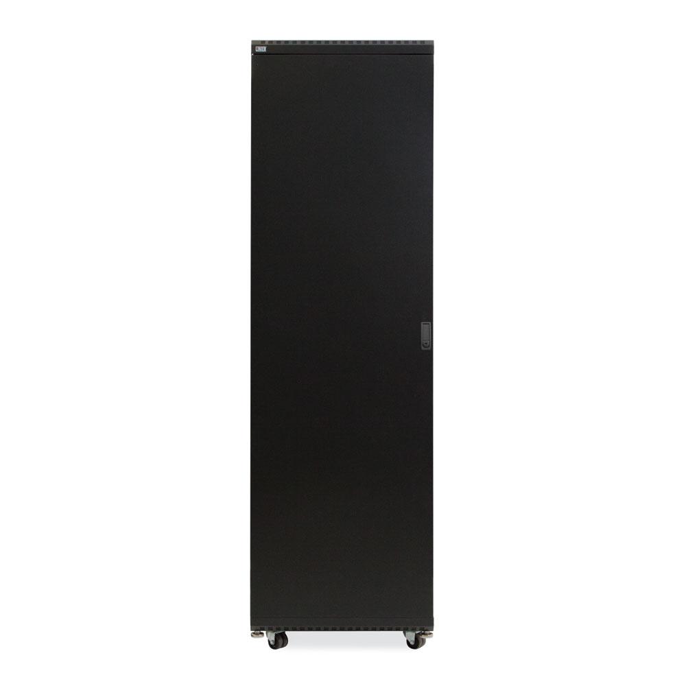 42U LINIER  Server Cabinet - Solid/Solid Doors - 24