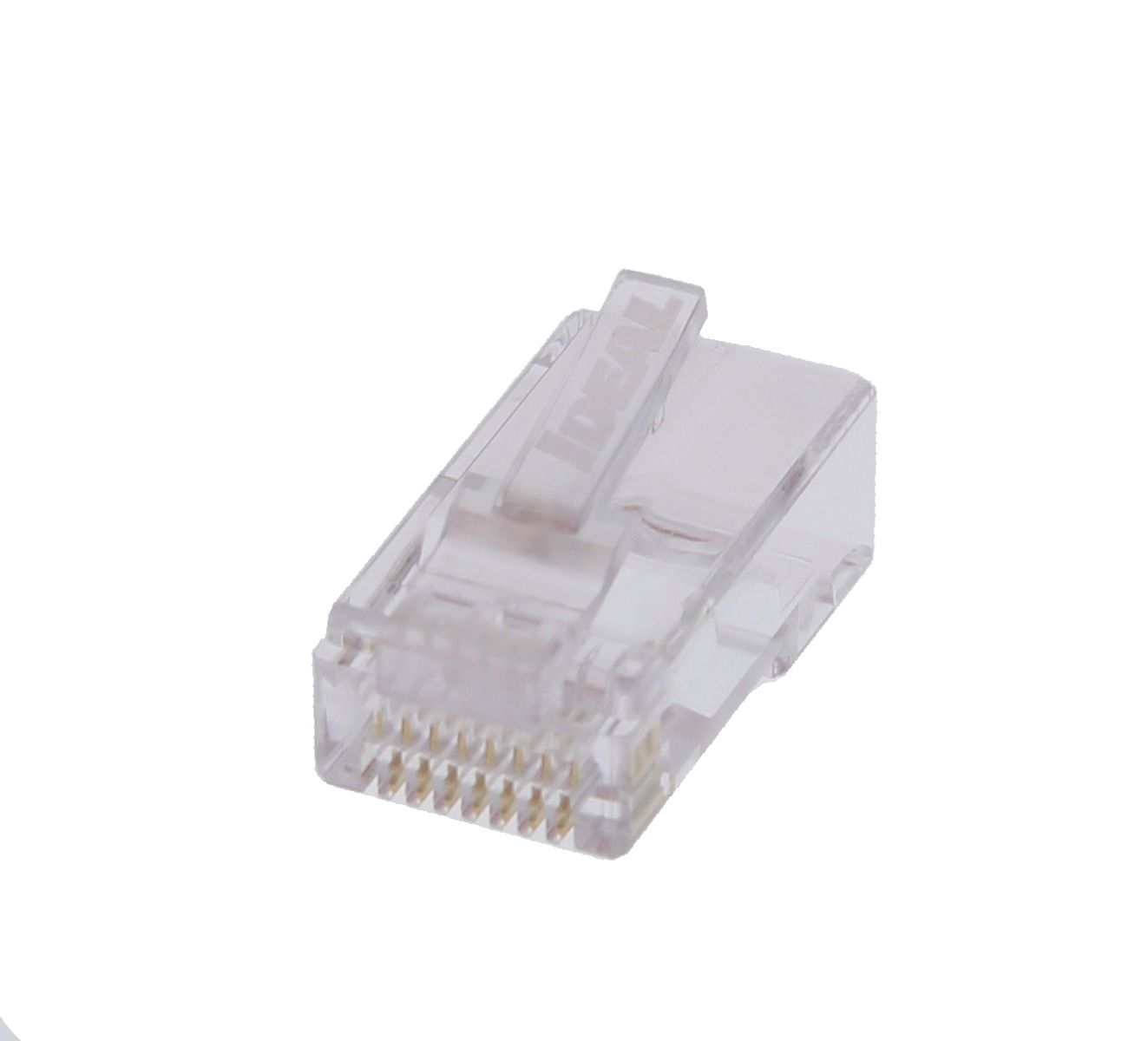 CAT6 Single Piece RJ-45 Modular Plugs - 25/Pack