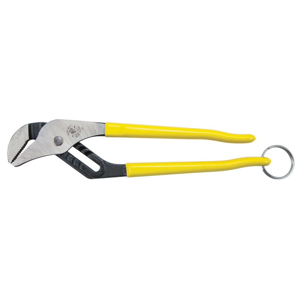 Pump Pliers, 12-Inch, with Tether Ring