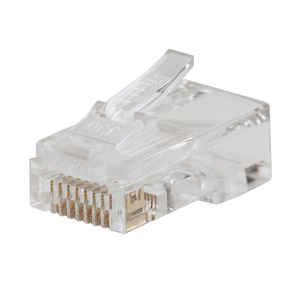 Pass-Thru™ Modular Data Plugs CAT6, 10-Pack