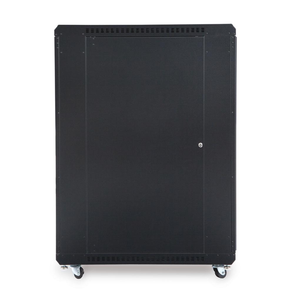 22U LINIER  Server Cabinet - Glass/Solid Doors - 36