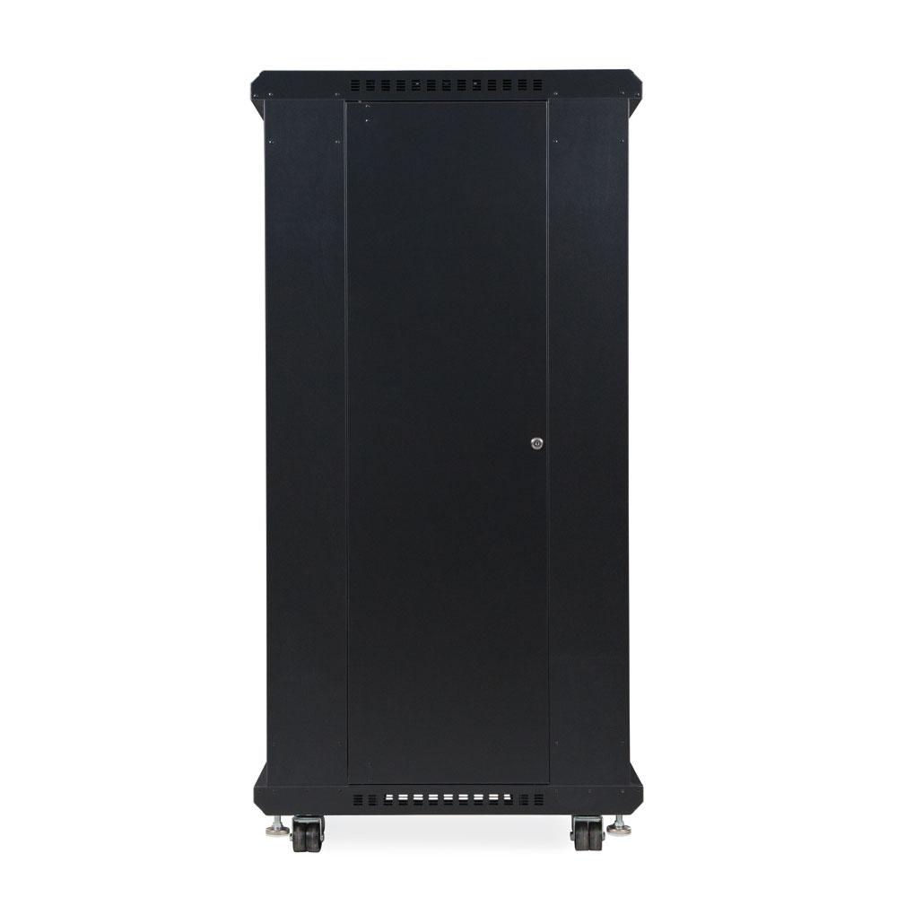 27U LINIER  Server Cabinet - Glass/Solid Doors - 24