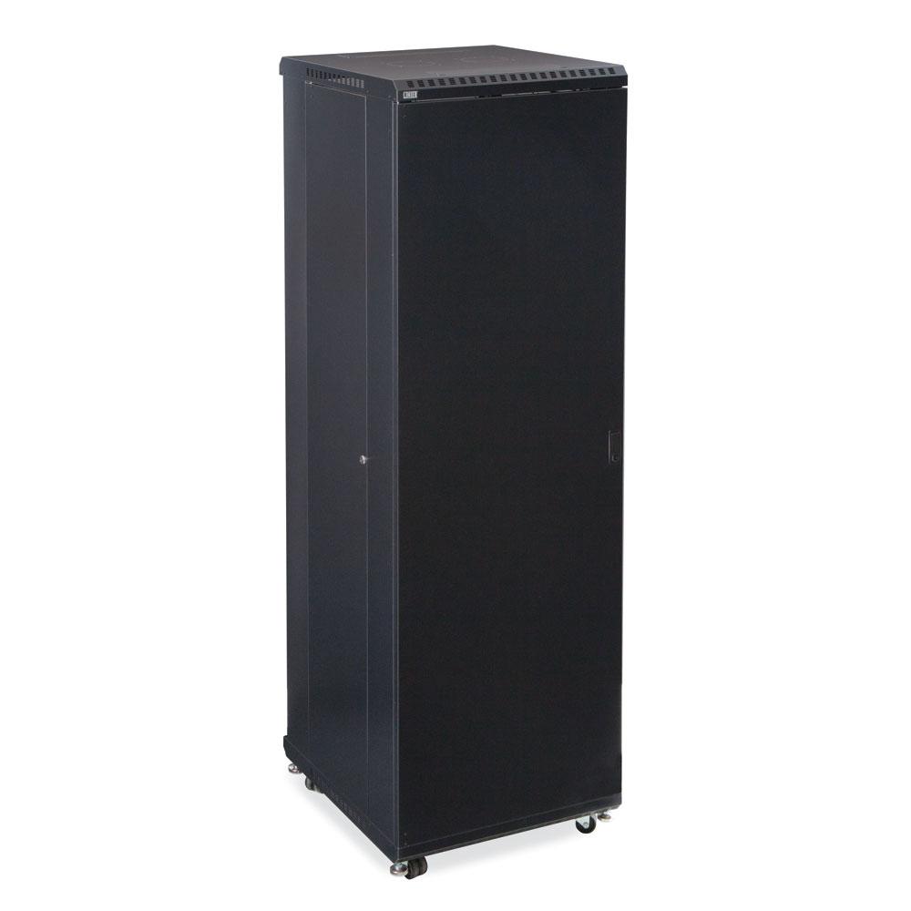 42U LINIER  Server Cabinet - Solid/Convex Doors - 24