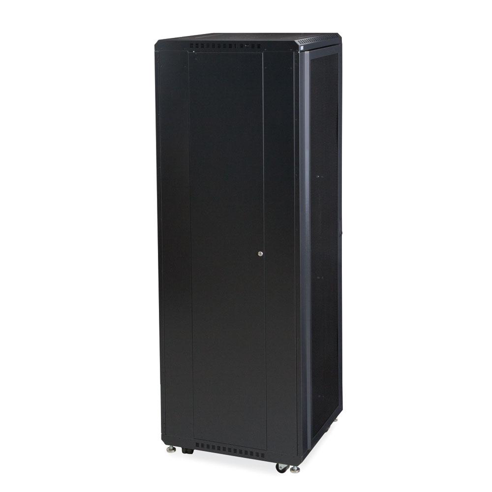 42U LINIER  Server Cabinet - Convex/Convex Doors - 24