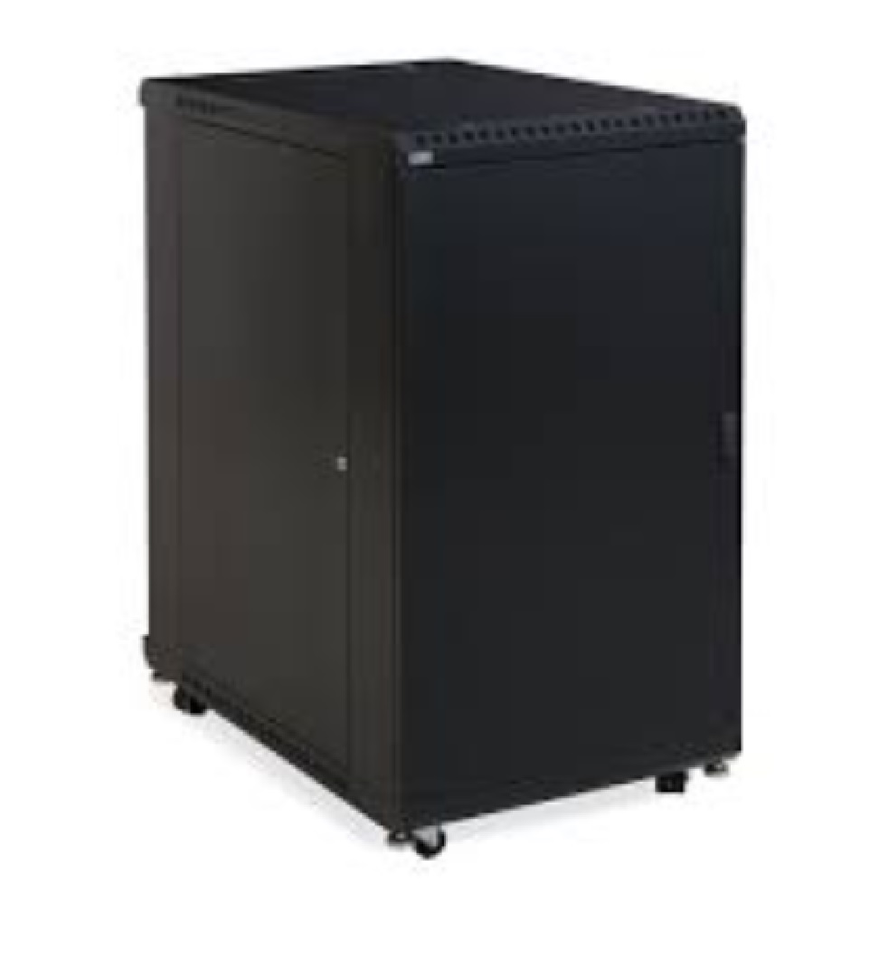 22U LINIER  Server Cabinet - Solid/Vented Doors - 36
