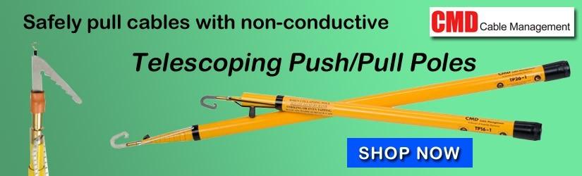 fiberglass push pull rods from CMD