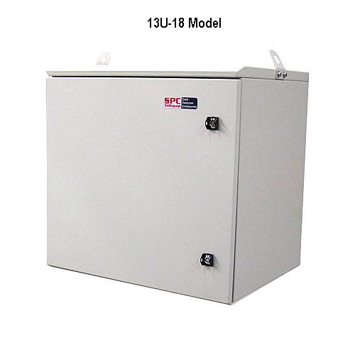 model 13-18u outdoor enclosure icon
