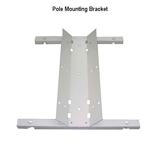 pole mounting bracket for outdoor enclosures icon