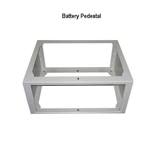 battery pedestal for outdoor enclosures icon