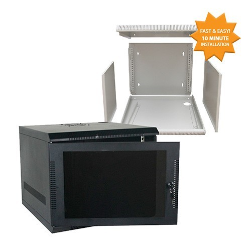 quest manufacturing e-z compact 600 series wall mount enclosure, in pieces