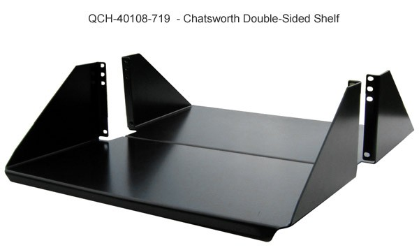 Non-Vented Double-Sided Rack Shelves