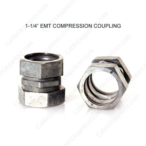 1-1/4in EMT Conduit Compression Coupling - icon