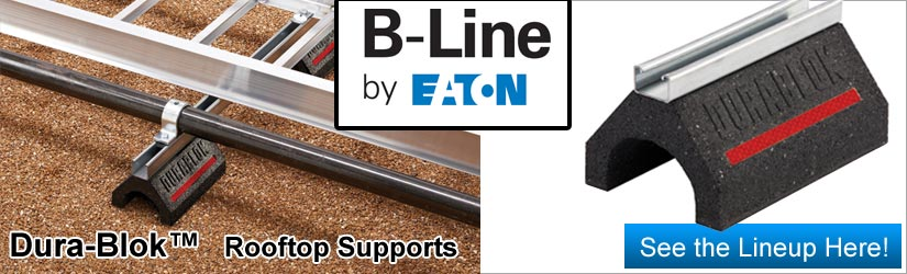 DuraBlok rooftop management from B-Line of Eaton