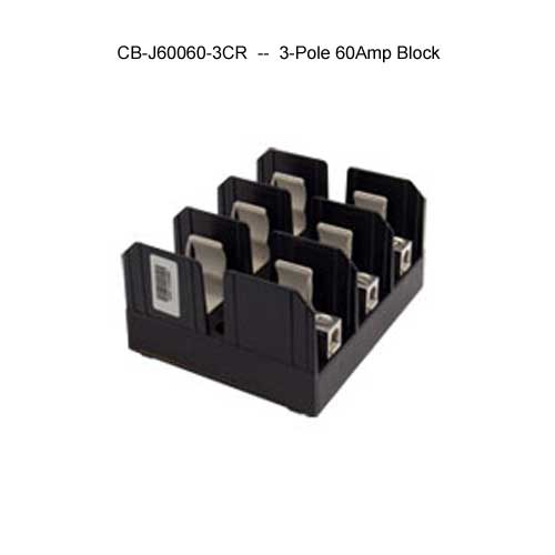 cooper bussmann j600 series 3-pole 60 amp fuse block icon