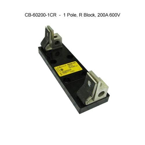 cooper bussmann r600 series 1-pole, r block, 200a, 600v fuse block icon