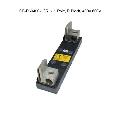 cooper bussmann r600 series 1-pole, r block, 400a, 600v fuse block icon