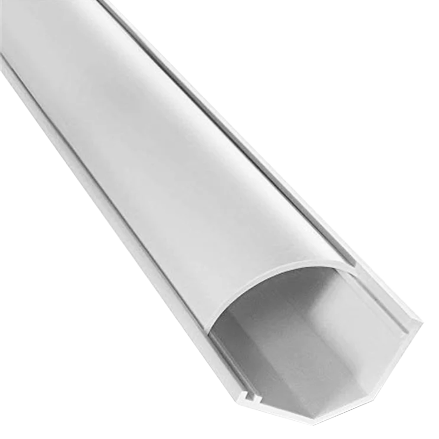 front view of 1150 series cornerduct surface raceway