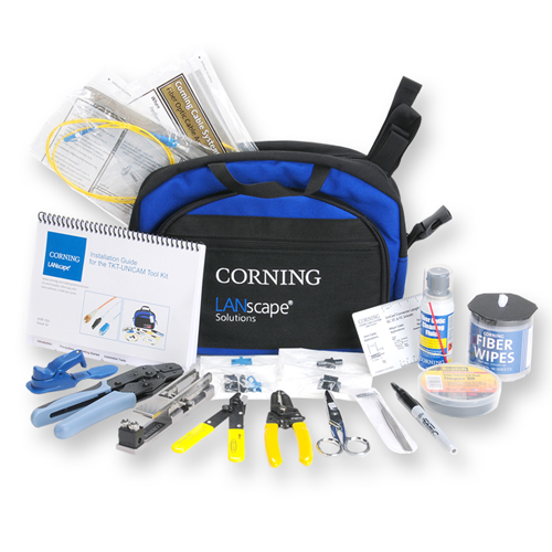 Corning TKT-UNICAM Fiber Optic Tool Kit
