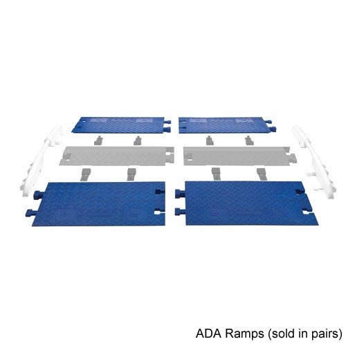 ADA ramps highlighted