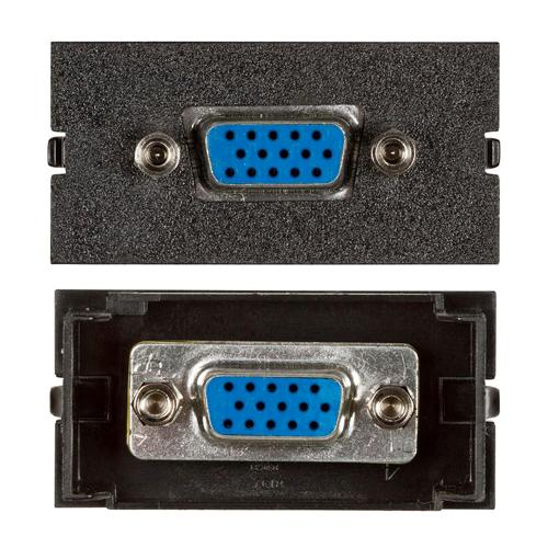 Connectivity Inserts for PCS1A Desk Outlet DMC-15PIN-BK