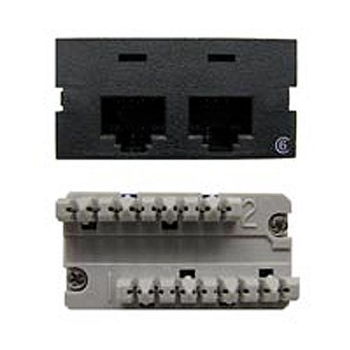 Connectivity Inserts for PCS1A Desk Outlet DMC-245-C6-BK