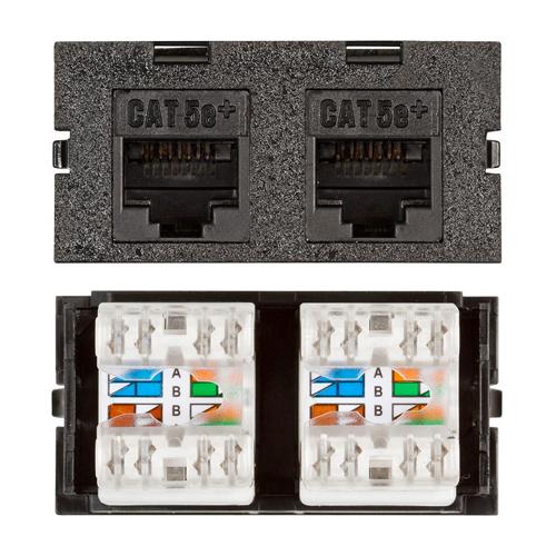 Connectivity Inserts for PCS1A Desk Outlet DMC-U2545-2-BK
