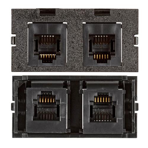 Connectivity Inserts for PCS1A Desk Outlet DMC-U1KEY311-BK