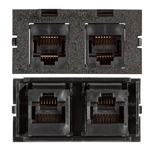 Connectivity Inserts for PCS1A Desk Outlet DMC-U1KEY345-BK