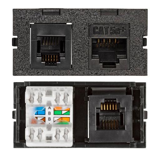Connectivity Inserts for PCS1A Desk Outlet DMC-U2311545-BK