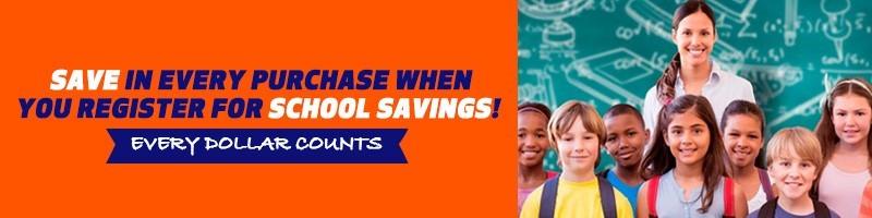 Schools and Universities get discounts
