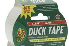 Duck brand clear duck tape