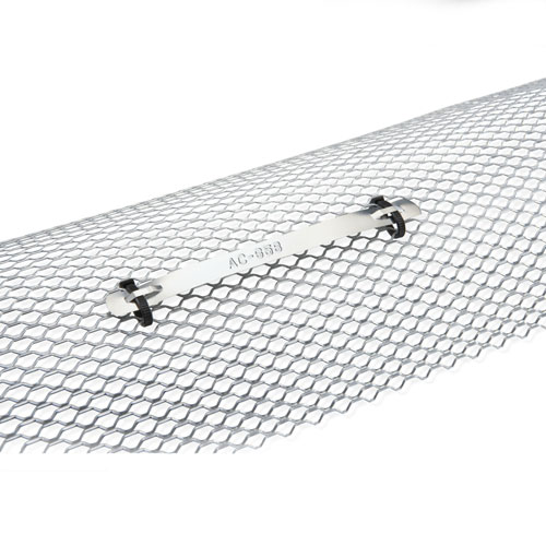 Non-Adhesive Aluminum stainless Tape on Wire Mesh Application