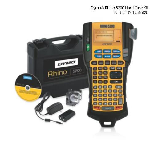 dymo rhino 5200 industrial label printer with hard case kit - icon