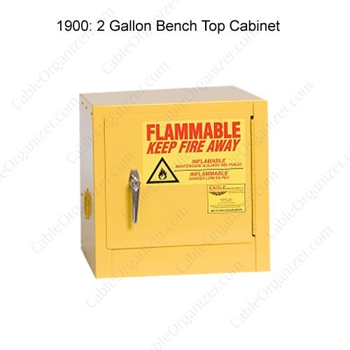 diagram of eagle manufacturing flammable storage safety cabinet - icon