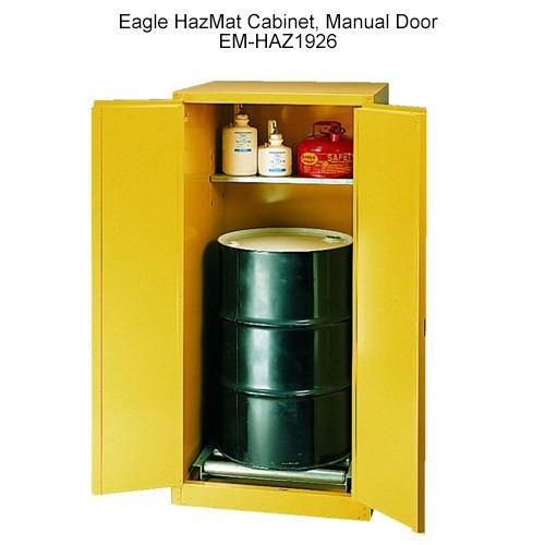 Eagle Manufacturing Haz-Mat Safety Cabinet 55 lbs