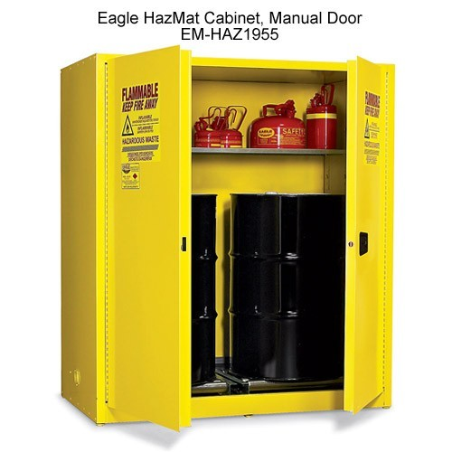Eagle Manufacturing Haz-Mat Safety Cabinet 110 lbs