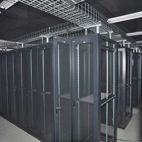 cable trays in server room