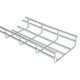Wirerun cable tray straight tray