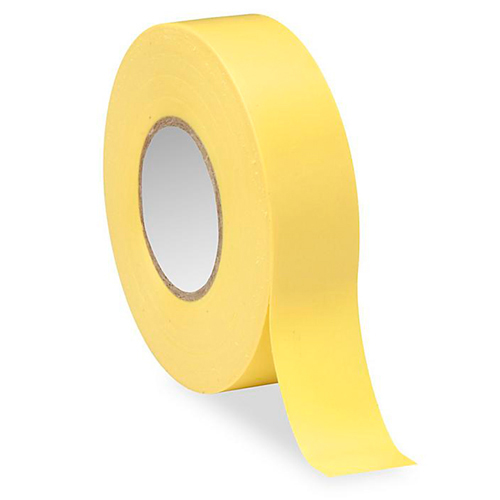 yellow electrical tape - icon