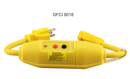 side view of tower model gfci 8018 close up icon