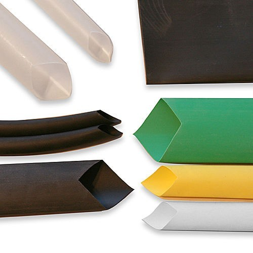 cheap 3 to 1 heat shrink tubing in various sizes and colors - icon