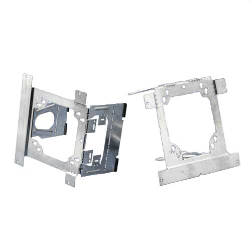 front and back view of erico caddy electrical box bracket - icon