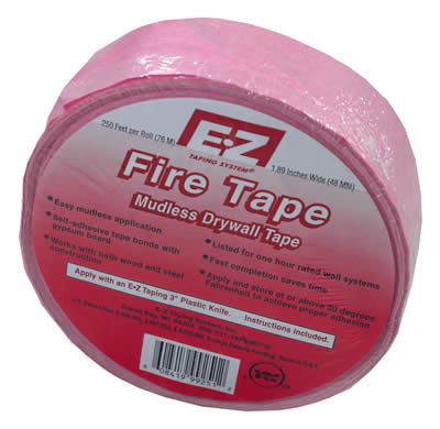 E-Z Self-Adhesive Fire Tape