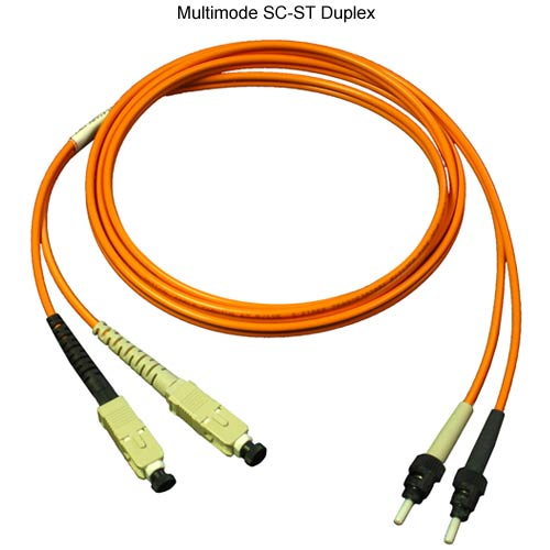 duplex sc-st multimode patch cable - icon