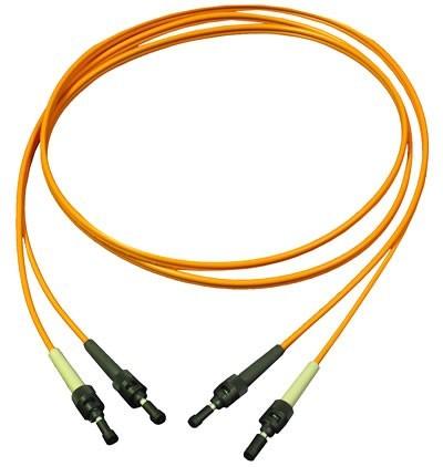 Fiber Optic Patch Cords - Multimode FOJ-MM6-D-ST-ST-M1