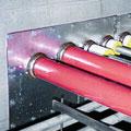 composite sheet fire barrier