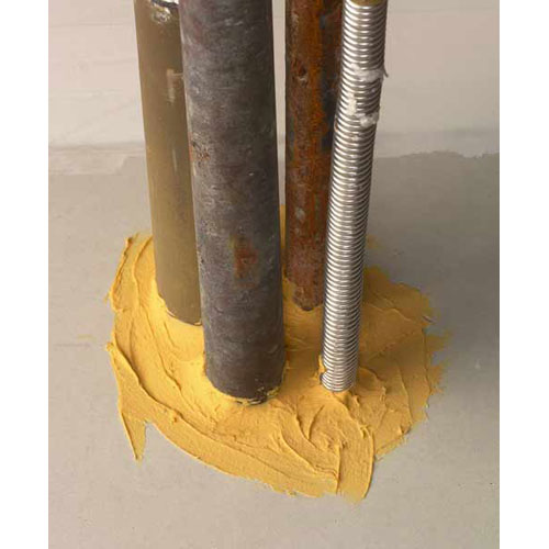 Pipes and conduit sealed with 3M Fire Barrier IC 15WB sealant icon