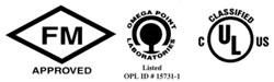 UL Fire Protection logos