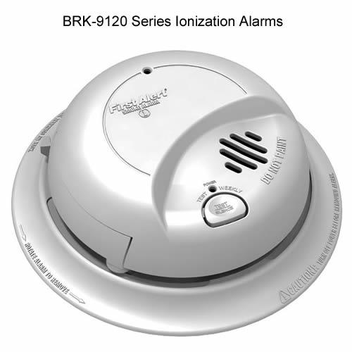 Ionization Sensor Smoke Alarm First Alert Cableorganizer Com